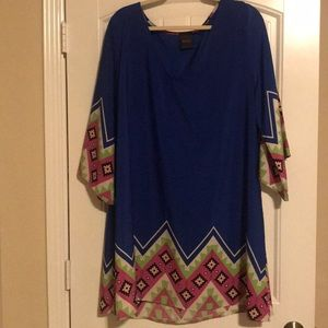 Blue Aztec dress!